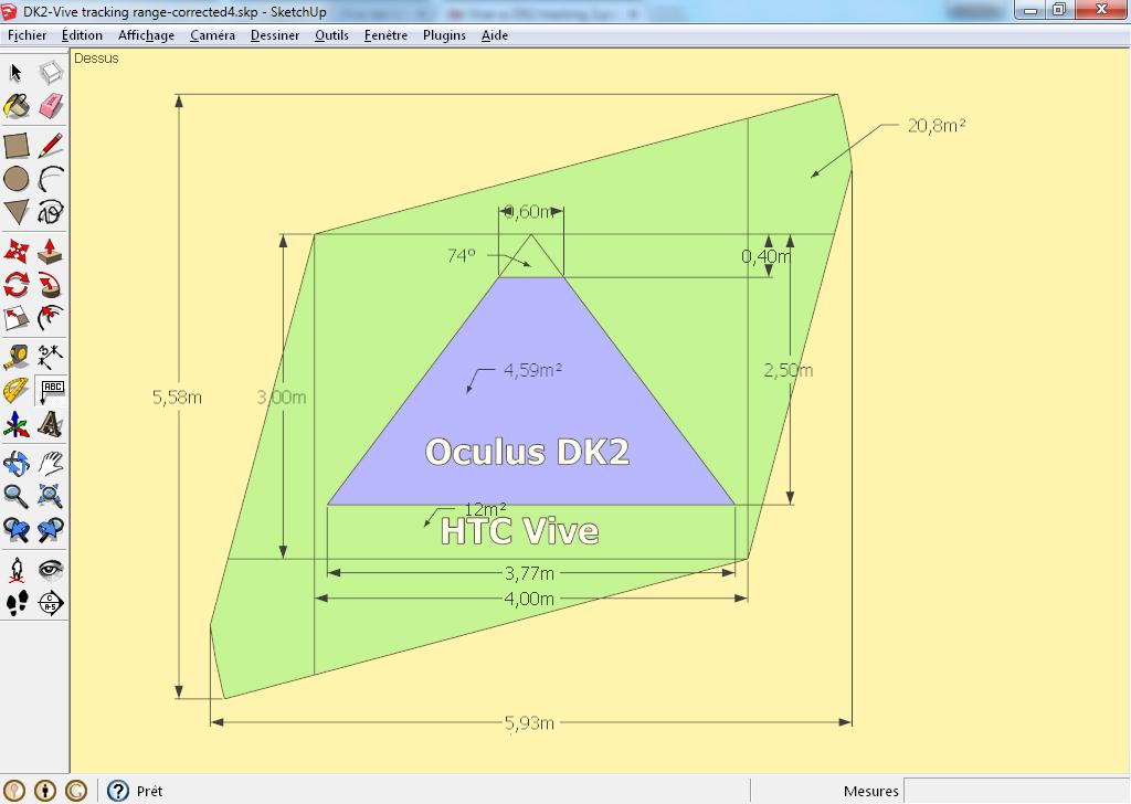 Diagram  Htc Vive Dev Kit Tracking Space   Oculus